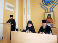 Выступление председателя ЕОРОиК прот. Виктора Михейкина