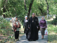Делегация нашей епархии