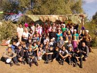 Насельники лагеря