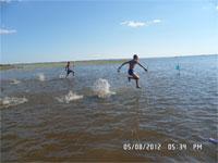 По воде, яко по суху...
