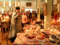 Великая Суббота в селе Петровка