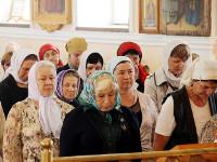Архиерейское богослужение Вознесенском кафедральном соборе