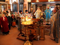 Начало Божественной литургии