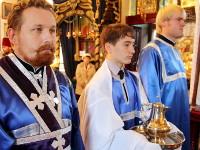 Иподиаконы за богослужением