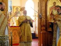 Воскресное богослужение 13 недели в Кафедральном соборе