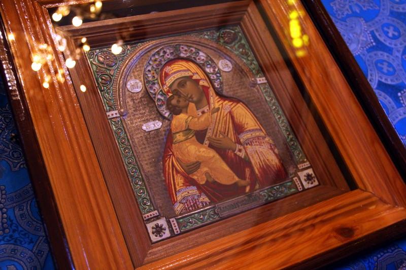 Архиерейское богослужение на праздник «Владимирской» иконы Пресвятой Богородицы