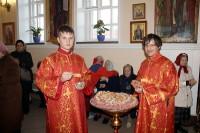 Всенощное бдение под праздник усекновения главы св. Иоанна Крестителя