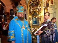 Служба правящего архиерея в Неделю 14-ю  по Пятидесятнице в храме Всех Святых