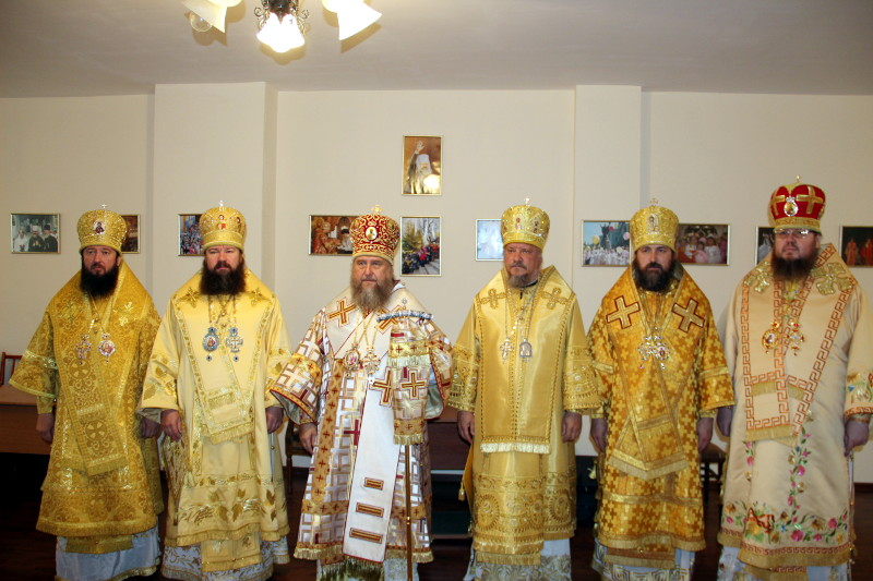 День памяти священномученика Пимена Верненского в Южной Столице