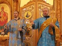 Архиерейское богослужение  на праздник Рождества Пресвятой Богородицы