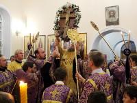 Архиерейское богослужение  на праздник Воздвижения Креста Господня