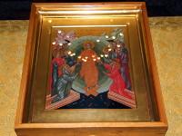 Богослужение в Кафедральном соборе Вознесения Господня в 17 Неделю  по Пятидесятнице