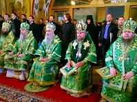 Празднование дня прп. Сергия в Лавре
