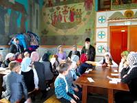 Открытый урок в воскресной школе кафедрального Никольского храма г. Булаево