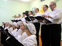 Выступление хора Вознесенского собора