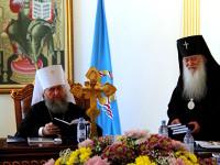 Заседание Синода Митрополичьего округа в Республике Казахстан