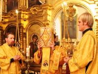 Архиерейское богослужение в первую седмицу Рождественского поста