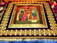 Праздничное богослужение  в кафедральном Никольском храме г. Булаево