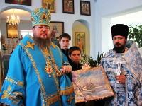 Божественная литургия в храме Введения во храм Пресвятой Богородицы с. Саумалколь