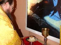 Божественная Литургия в Кафедральном соборе св. Николая г. Булаево
