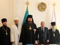 Встреча с Акимом района Магжана Жумабаева