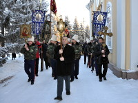 Крестный ход на праздник святителя Николая Чудотворца