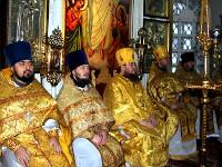 Архиерейское служение в соборе святых апп. Петра и Павла в неделю 28-ю по Пятидесятнице