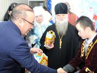 Благотворительный новогодний утренник для детей с ограниченными возможностями в г. Булаево