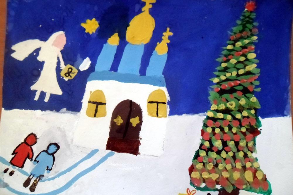 Сивчук Олеся, 7 лет, Праздник начинается, гуашь, А3