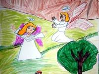Мискина Лера, 8 лет, Песнь, Б., смешанная техника
