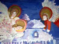 Четверикова  Виктория, 12 лет, В канун Рождества, гуашь, А3