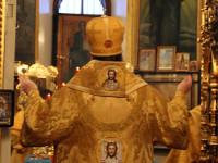 Престольный праздник св. праведного Иоанна Кронштадтского в храме Всех Святых