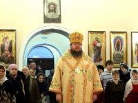 Епископ Владимир совершил Божественную Литургию в неделю перед Рождеством
