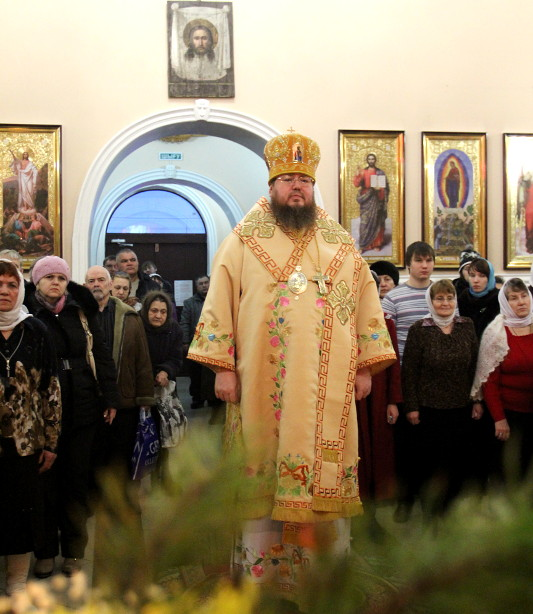 Епископ владимир совершил