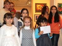 Преосвященнейший Владимир принял участие в награждении победителей конкурса «Рождественские фантазии»