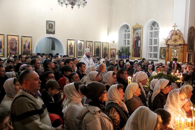 «Христос рождается – славите!» Рождество Христово в Вознесенском соборе г. Петропавловска