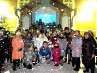 Рождественское праздничное богослужение в кафедральном Никольском храме г. Булаево