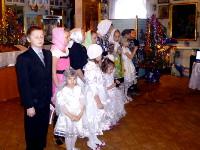 Рождественское богослужение в Покровском храме г. Таиынша