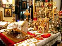 Богослужение чудесной ночи Рождества Христова