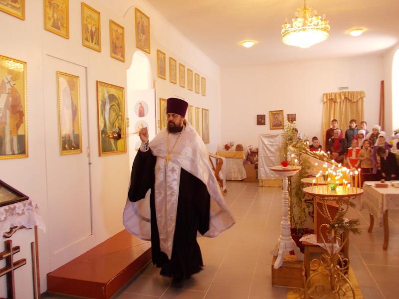 Праздничный молебен состоялся в с. Тимирязево