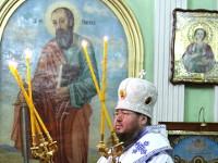 В Петро-Павловском соборе отслужена Божественная Литургия в субботу по Рождестве Христовом