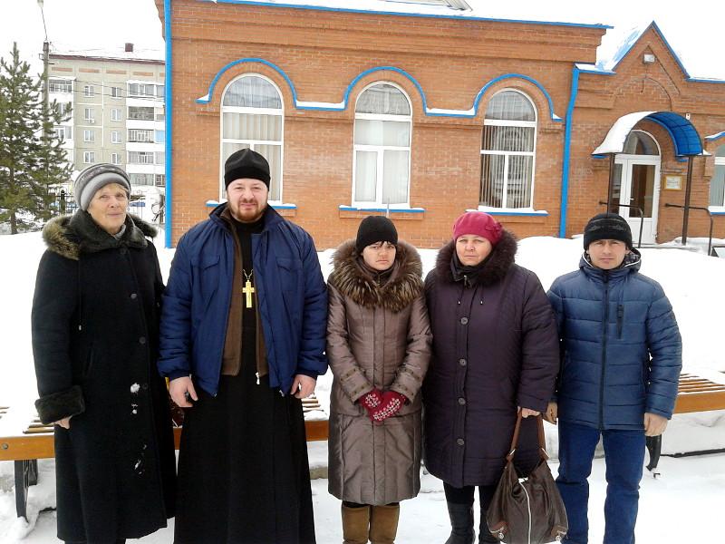 Отчёт социального отдела Петропавловской и Булаевской епархии за декабрь 2014 года