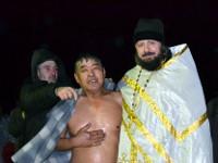 Православные христиане отметили Крещение Господне