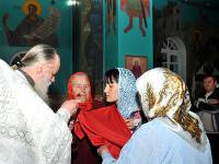 Всеобщее и Великое освящение животворящей воды проходило в кафедральном Никольском соборе г. Булаево в день праздника Крещения Господня