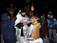 Крещение Господне в храме прп. Сергия Радонежского г. Сергеевка