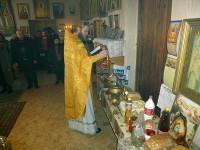 Престольный праздник в селе Чкалово