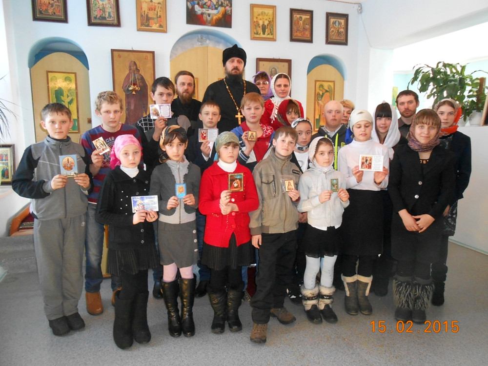 День православной молодёжи в с.Саумалколь