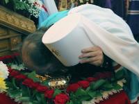 Торжества по случаю принесение ковчега с частицей мощей святой мученицы Агафии Панормской и Сицилийской в городе Алма-Ате