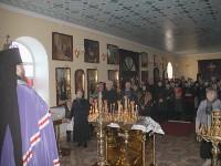 Чтение покаянного канона преподобного Андрея Критского в храме священномученика Мефодия