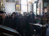 Литургия Преждеосвященных Даров в храме Всех Святых. Чин освящение колива